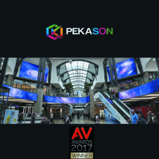 Pekason Av Awards de la réalisation digitale