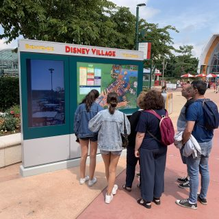 Affichage dynamique Disneyland Paris