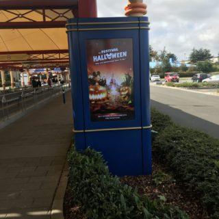Borne écran sur mesure à Disney