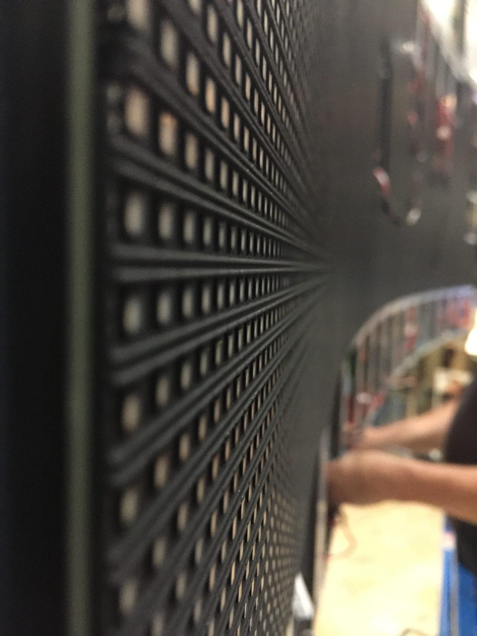 Pitch écran géant led