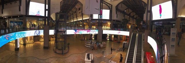 Ecran géant prix de l'ensemble LED Centro