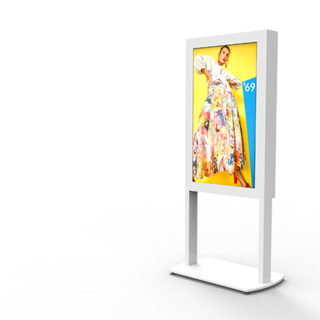 Mobilier design pour vitrine