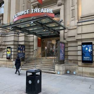 Affichage exterieur theatre et cinema