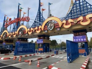 Ecran geant LED peage Disneyland Paris