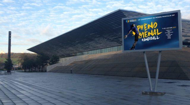 Écran extérieur publicitaire led de Rouen