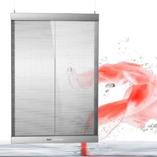 ecran transparent pour vitrine