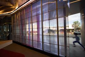 Vue arriere ecran transparent
