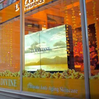 Ecran vitrine boutique l'occitanie