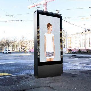 Mobilier urbain video design
