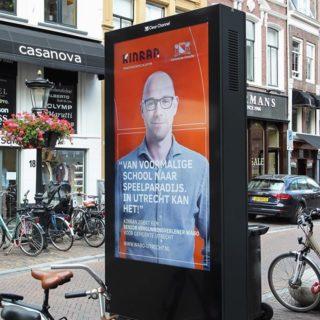 Mobilier urbain publicitaire regie