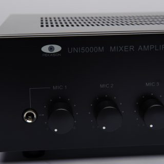 Vue ampli mélangeur L100V