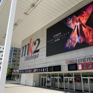 Ecran géant LED extérieur facade MK2