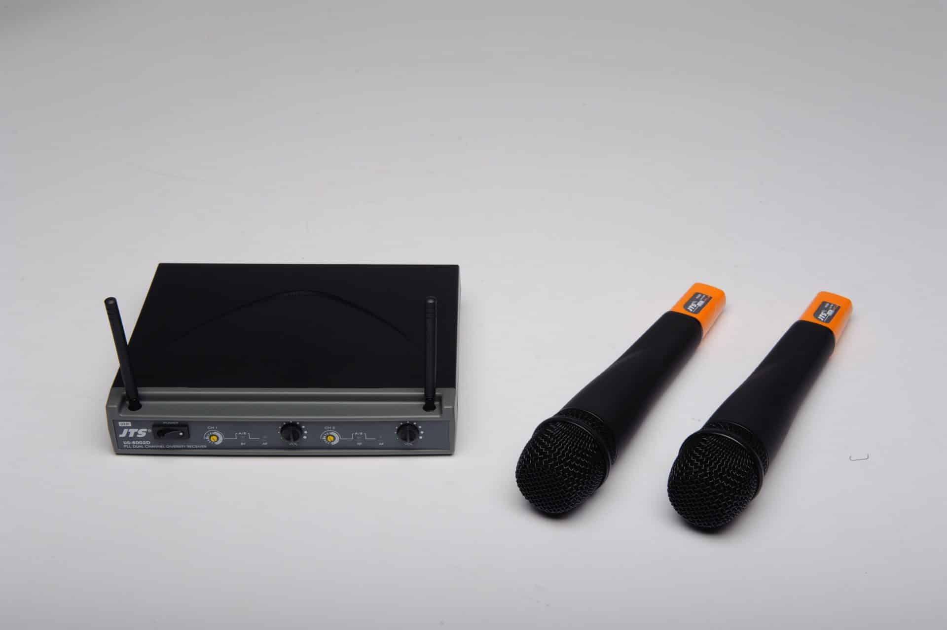 Ensemble double micro sans fil