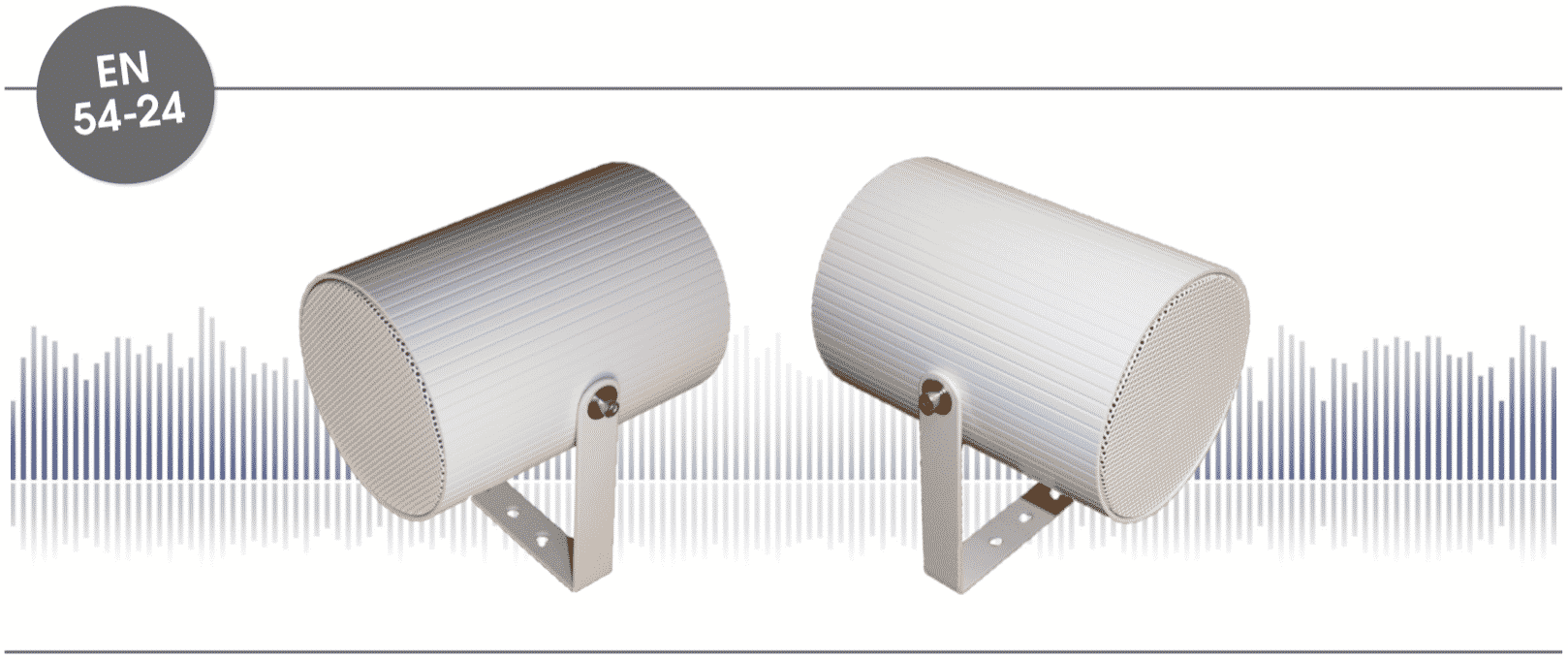 Projecteur de son conforme sonorisation de sécurité norme EN54