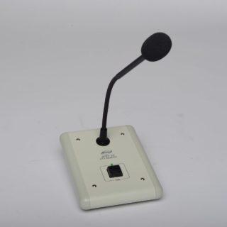 Pupitre micro appel general