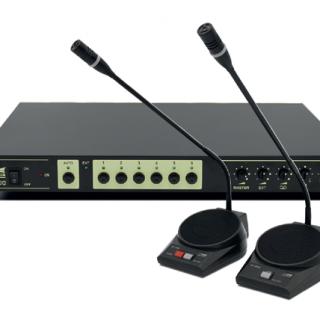 Régie du système de sonorisation de conférence