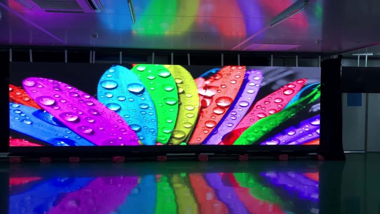 Ecran géant intérieur COB LED