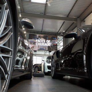 Mur video led pour Porsche Lyon