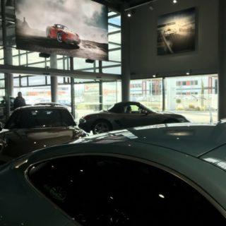 Mur vidéo led de la concession automobile