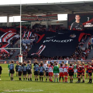 Ecran geant stade toulouse rugby