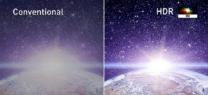Comparaison image HDR et SDR