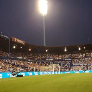 Stade Italie panneau publicitaire LED