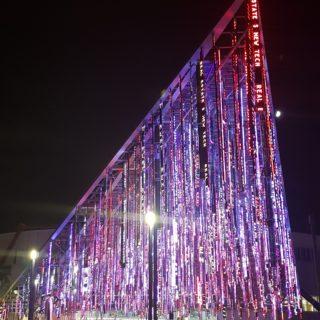 Pendrillons led du parc des expositions realisation 2019