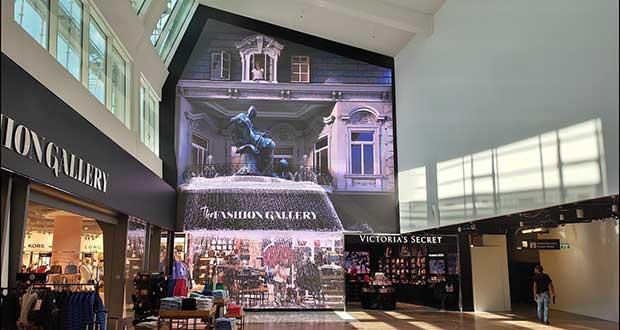 Mur vidéo LED Aeroport de Vienne