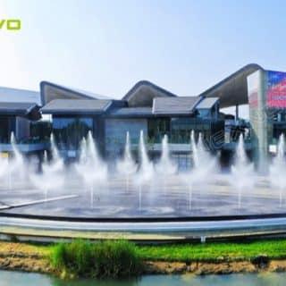 vue de la media facade du centre commercial