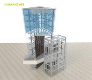 Plan projet média façade