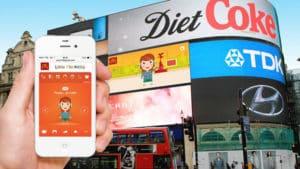Affichage-digital-interactif -ecran geant