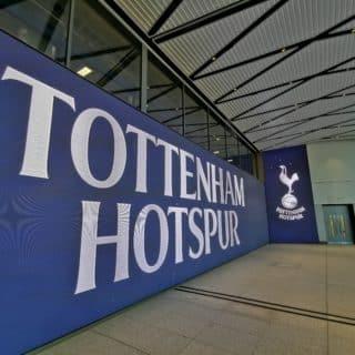 Ecran geant du stade de Tottenham