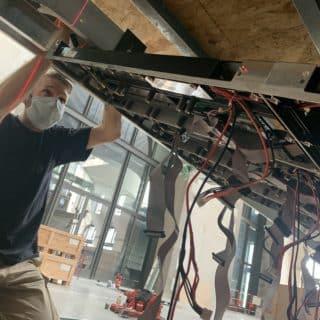 Installation ecran geant Canot Brest